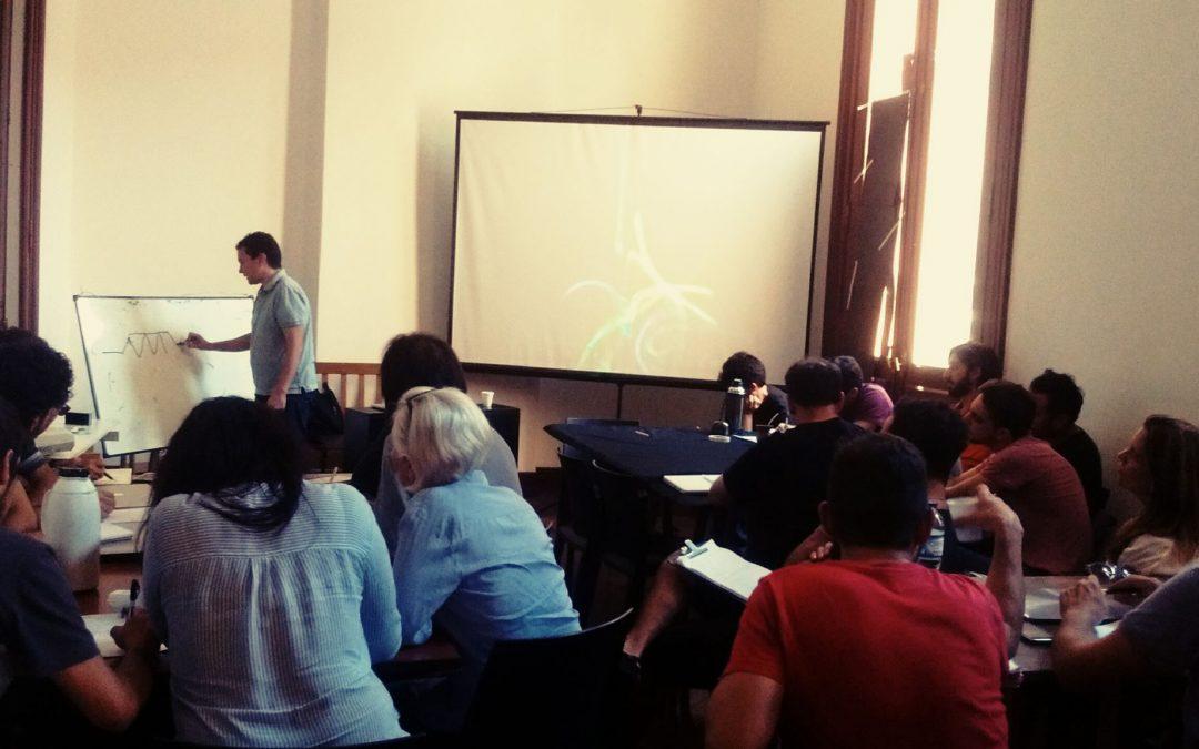 Se completo la primer jornada del taller Storytellers