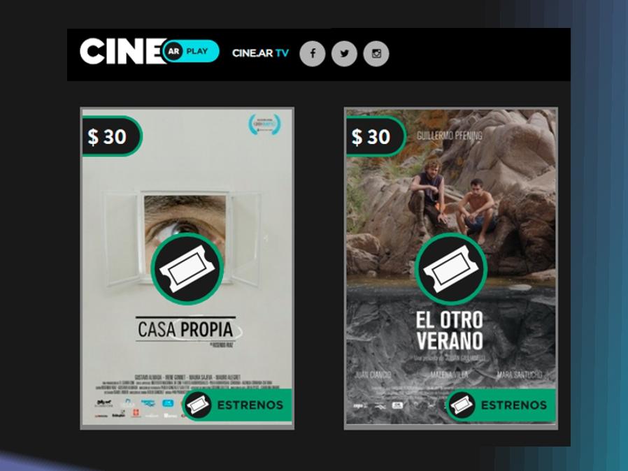 «Casa Propia» y «El otro verano» ya están en cine.ar