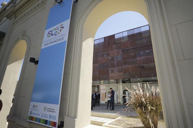Inauguración del Centro Cultural San Francisco con sede del Polo Audiovisual