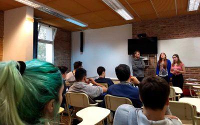 Primera reunión de la comisión de estudiantes de APAC