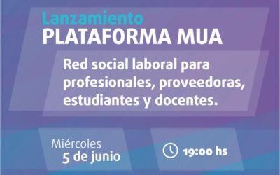 Conversatorio virtual: Lanzamiento Plataforma MUA en Córdoba