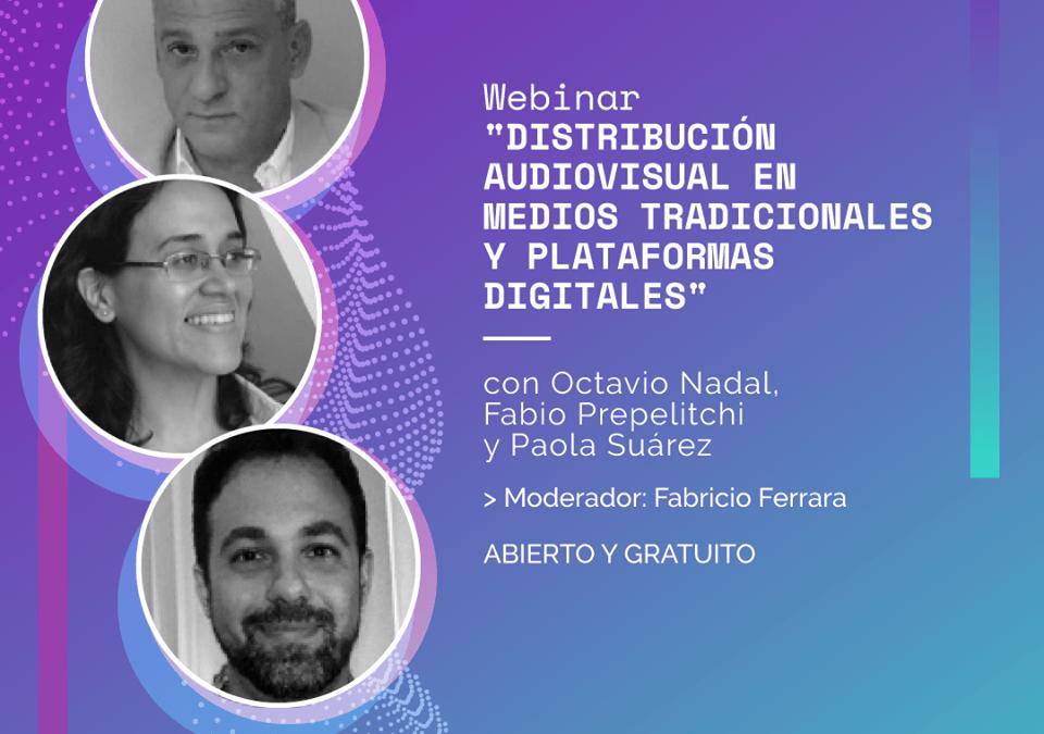 Seminario online distribución audiovisual en medios tradicionales y plataformas digitales