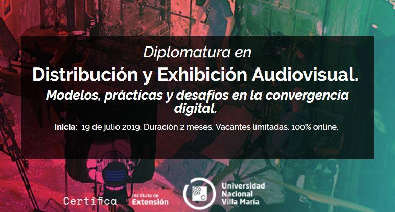 Diplomatura en distribución y exhibición