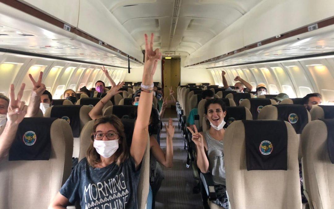 Lxs compañerxs en Perú lograron el traslado a Lima