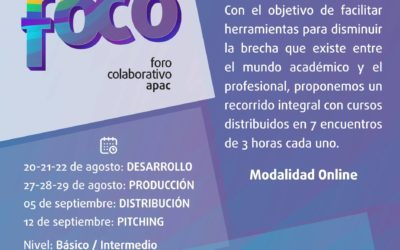 FoCo APAC: De la idea al Screening Fee