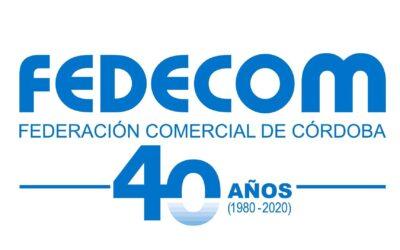 Felicitamos a la Federación de Comerico de Córdoba en su 40 Aniversario
