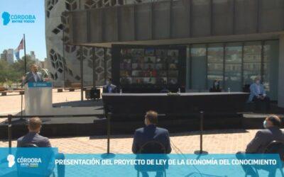 Lanzamiento y adhesión a la Ley de Economía del Conocimiento en Córdoba
