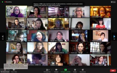 Presentes en el Primer Encuentro de Mujeres de Iberoamérica