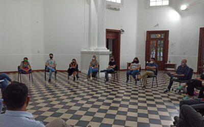 Reunión y Conferencia de prensa en el Centro de Producción Regional Villa María