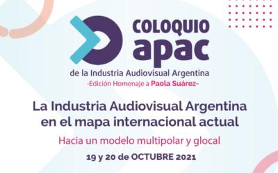 II Coloquio APAC de la Industria Audiovisual Argentina: multipolaridad internacional